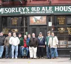 group shot McSorleys